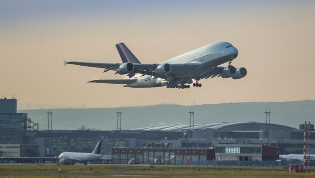 plane, frankfurt, airport