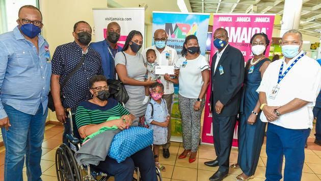 Jamaica Welcomes One Millionth Post Outbreak Visitor