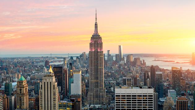 Skyline of New York with the Empire State Building. (photo by johnkellerman/ iStock / Getty Images Plus)