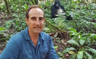 Guillaume van Wyk in Uganda on a Gorilla Trek