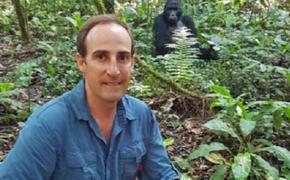 Guillaume van Wyk in Uganda on a Gorilla Trek