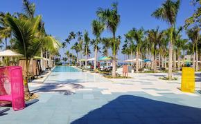 Main Pool at Club Med Miches Playa Esmeralda, Dominican Republic