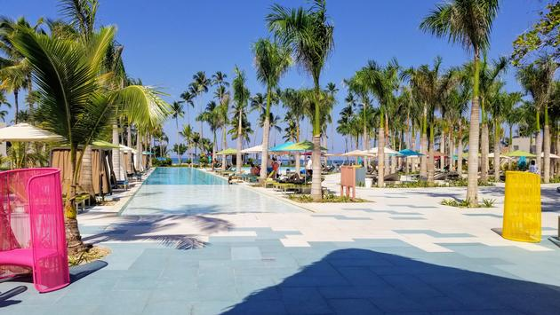 Main Pool at Club Med Miches Playa Esmeralda, Dominican Republic