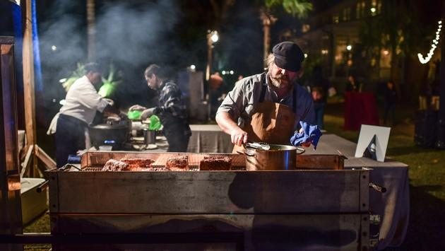 The charm and flavor of Southern cuisine were on full display during Palmetto Bluff