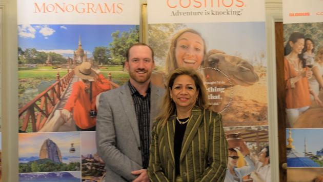 Chris Jones and Stephanie Bishop, Globus