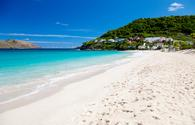 Anse des Flamands in St Barts, French West Indies