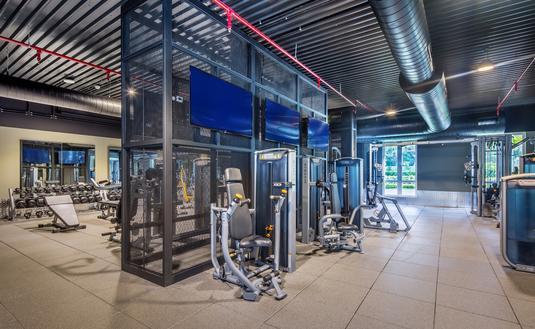 Fitness Center at Hyatt Ziva and Zilara