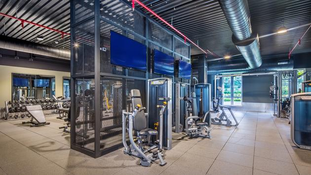 Fitness Center at Hyatt Ziva and Zilara