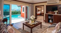 Mediterranean One Bedroom Butler Villa with Private Pool Sanctuary