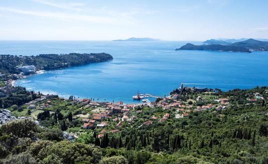 The Elaphiti Islands, Croatia