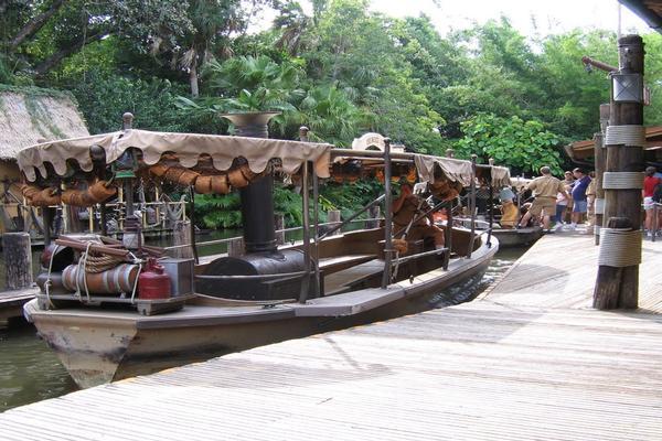 Jungle Cruise Sinks at Disney's Magic Kingdom
