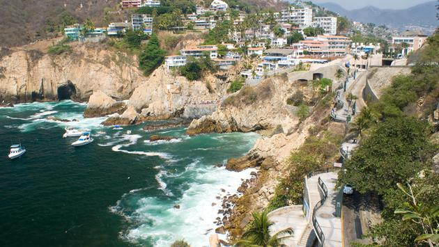 Cliffs of Acapulco, Mexico