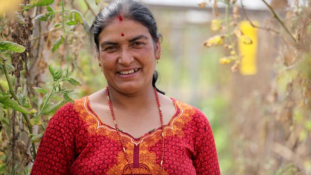 Sarita, A Farmer in Nepal
