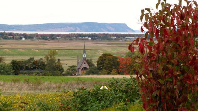Nova Scotia's Grand Pre and the Annapolis Valley are a top wine-producing region.
