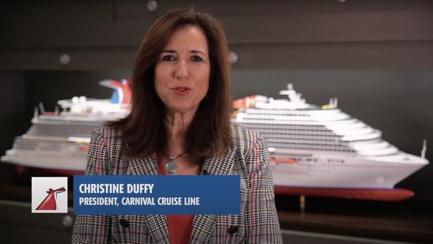 Carnival Cruise Line President Christine Duffy