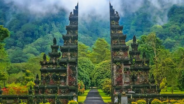Hindu temple in Bali, Indonesia