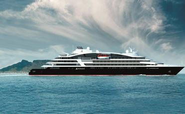 A rendering of Ponant's new Le Lapérouse.