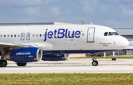 JetBlue Airbus A320 in Fort Lauderdale, Florida