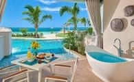 Beachfront Swim-up Honeymoon Butler Suite