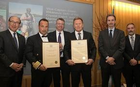 The 2017 IMO Award for Exceptional Bravery at Sea