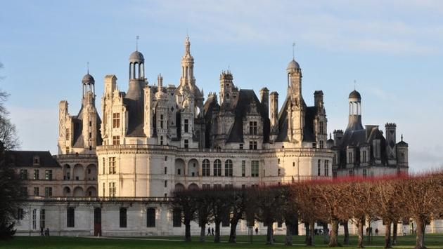 Chateau of Chambord in France's Loire Valley