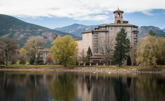 The Broadmoor Hotel; Colorado Springs, Colorado.