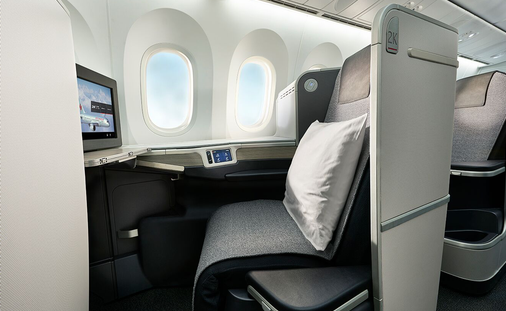 Make an offer to enjoy all the comfort and benefits of a higher cabin class!