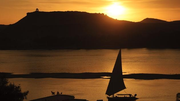 Sunset View of the Nile River