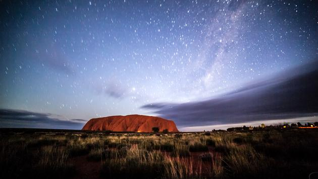 Uluru or Ayers Rock in Australia's Northern Territory