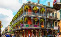 New Orleans' famed French Quarter.