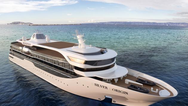 Silversea's Silver Origin Rendering