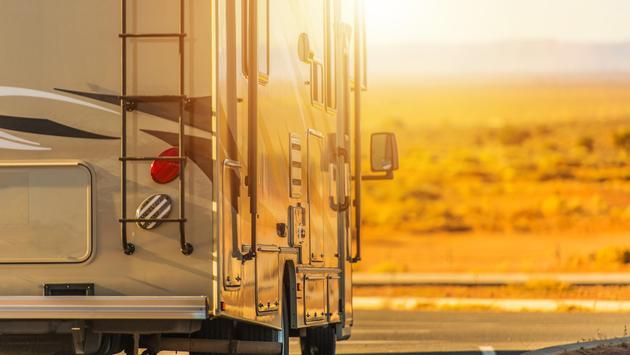 Recreational Vehicle RV Trip