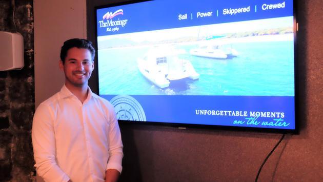 Ian Pedersen The Moorings Yacht Charters