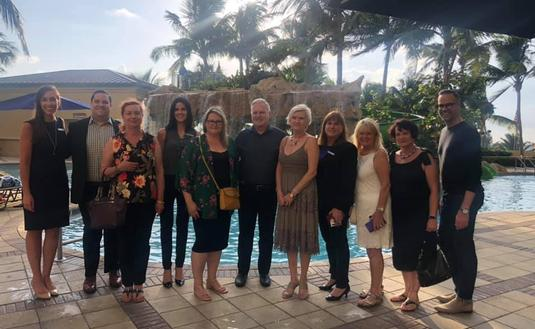 Discover the Palm Beaches FAM TRIP Crew