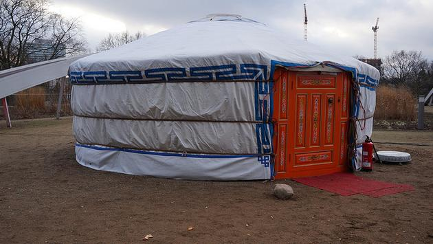 Yurt in Germany