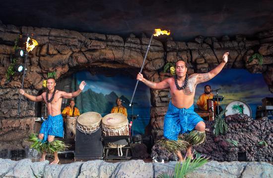 Drums of the Pacific Luau at Hyatt Regency Maui Resort and Spa.