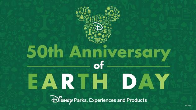 Disney Parks celebrates the 50th anniversary of Earth Day