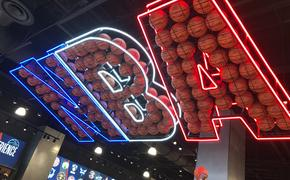 NBA display at Disney Springs' NBA Experience