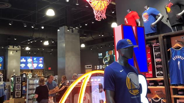 NBA store in Disney Springs