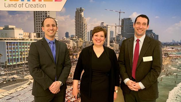 From L to R: Gal Hana, Consul Director for Canada; Galit Baram, Consul General of Israel; and Eyal Carli, Tourism Commissioner of North America
