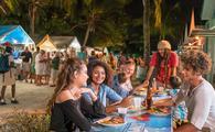 Oistins street food in Barbados