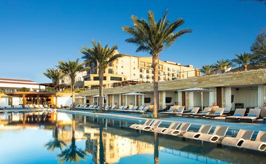 La Cantera Resort Pool Deck Topaz Cabanas