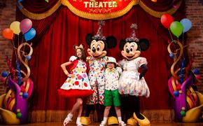 Mickey, Minnie, Disney