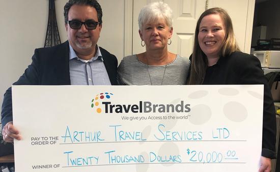 Concours de 20 000 $ de TravelBrands