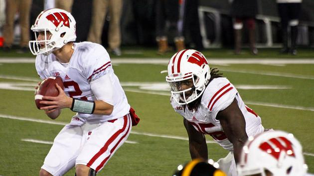 Wisconsin Badgers college football players