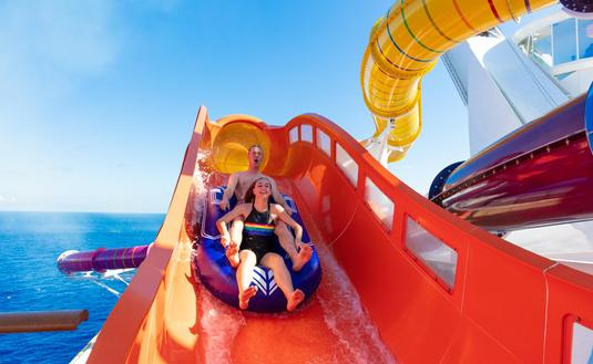 The Blaster aqua coaster, Navigator of the Seas, Royal Caribbean International