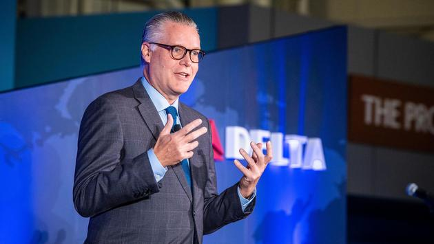 Delta Air Lines CEO, Ed Bastian.