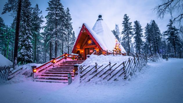 Rovaniemi, Finland. The official hometown of Santa Claus