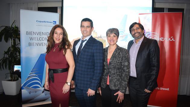 Évènement Pérou et Copa Airlines à Montréal
