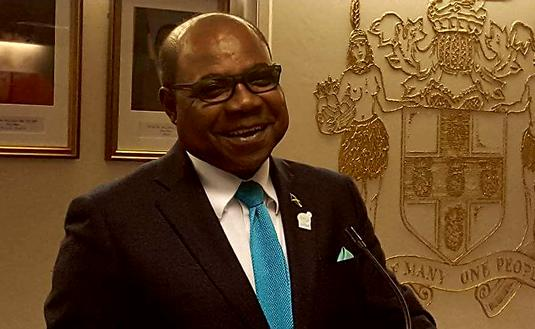 Edmund Bartlett, Jamaica Tourism Minister